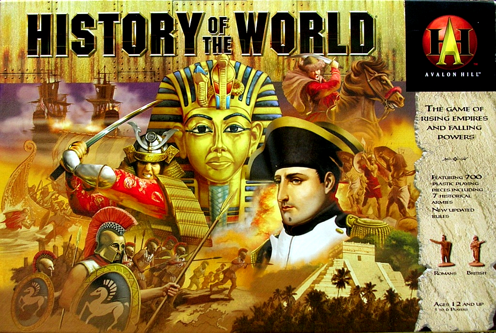 history of the world History of the world is a game of epic conquest set amid the rise and fall of mighty empireseach game spans the dawn of civilization to the twentieth century as you take command of historical civilizations and spread your influence across the globe.